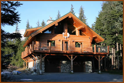 Homes built by alaska log builders for Alaska log home builders