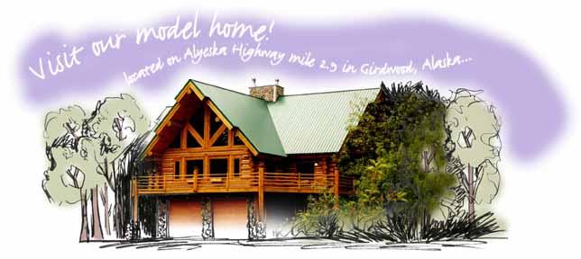 ALASKA LOG BUILDERS - Alaska log home builder and broker
